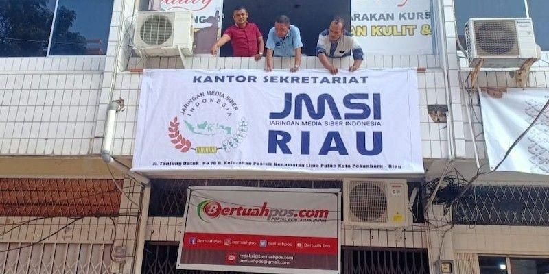 Papan Nama Kantor JMSI Riau
