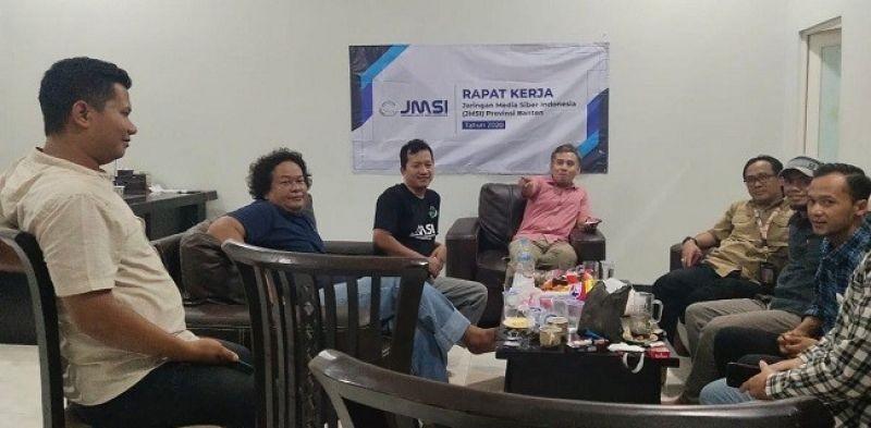 JMSI Banten Gelar Raker Jelang Pelantikan